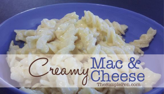Creamy Mac 'n Cheese {Plus the secret to avoiding stringy, gritty, lumpy cheese}