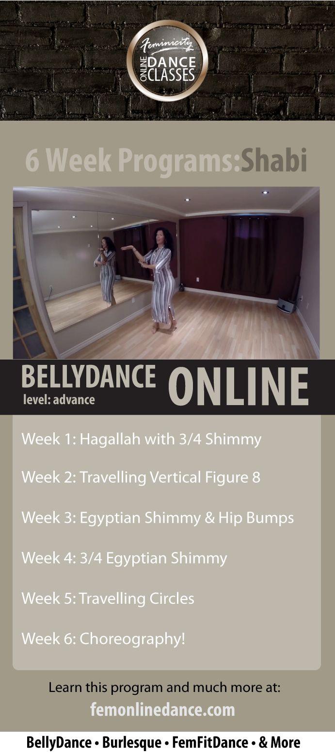 Belly Dance Online: Shabi Program (Advance) http://femonlinedance.com