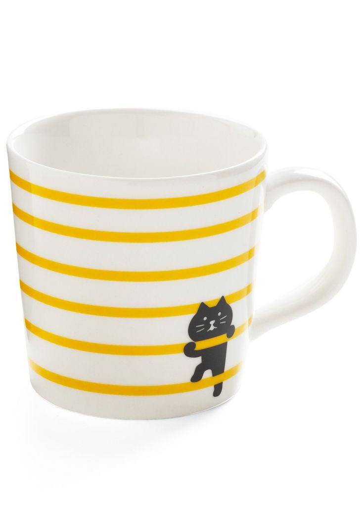 I am definitely going to make this mug -- mug chat qui escalade les rayures