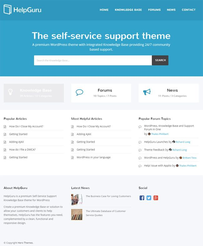 16 best 15+ Best WordPress Themes for Knowledge Base, Wiki, FAQ and ...