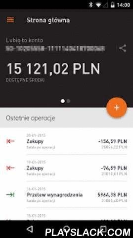 BPH  Android App - playslack.com ,  Aplikacja umożliwia intuicyjną obsługę najważniejszych funkcji:- błyskawiczny i przejrzysty wgląd w stan swoich finansów- realizacja przelewów dowolnych, zdefiniowanych, do ZUS i US a także natychmiastowych- doładowania telefonów na kartę- sprawdzanie historii i szczegółów posiadanych produktów- spłatę karty kredytowejA także:- logowanie hasłem używanym w systemie internetowym- nawigację do najbliższego bankomatu Banku BPH oraz Euronetu w Polsce (poza…