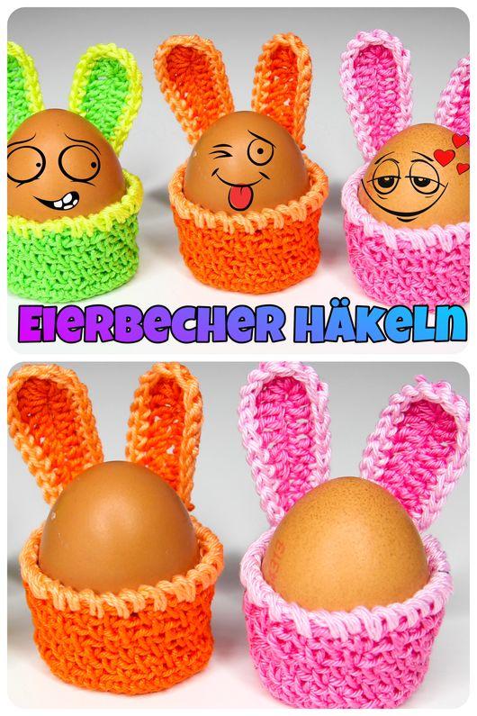 Eierbecher Häkeln – Schnell und Einfach