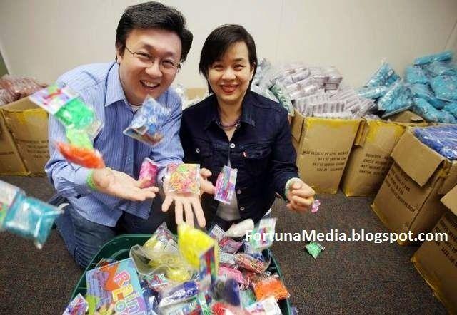Gelang Getah 'Rainbow Loom'  Cheong Choon Ng Cipta Kekayaan