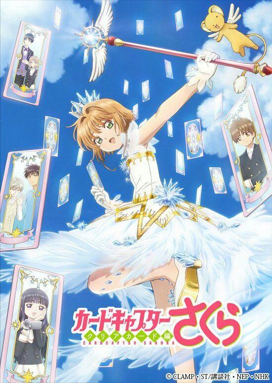 Nueva imagen promocional del anime de CCS Clear Card. 21/11/17.