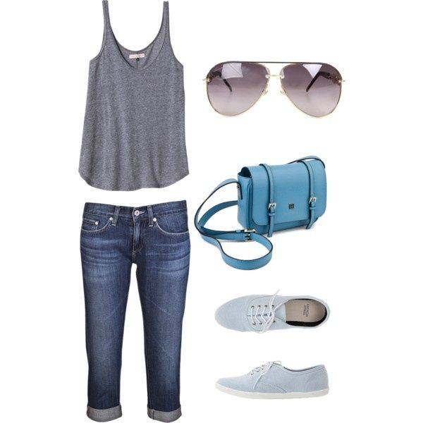 Theme Park Outfit Ideas | Casual outfit for an amusement park