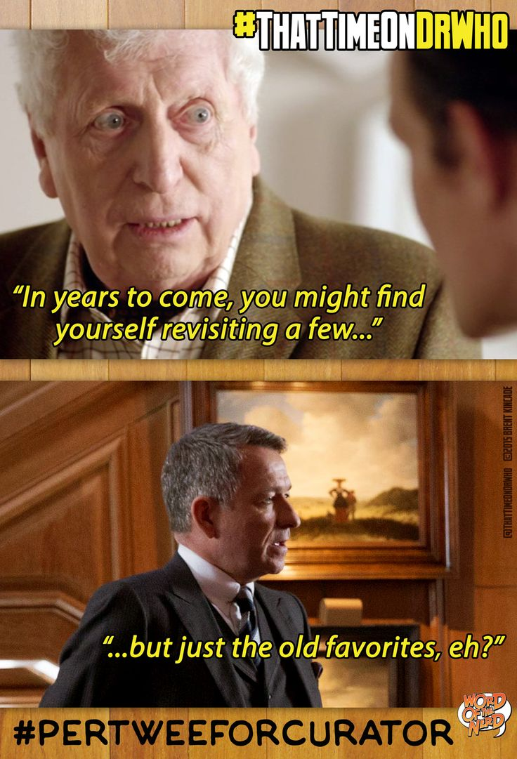 That Time On Doctor Who – Week 101