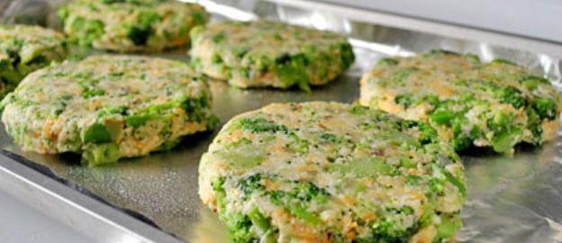 Broccoli-burgers!