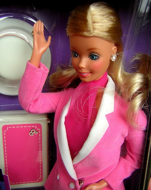 80's Day to Night Barbie