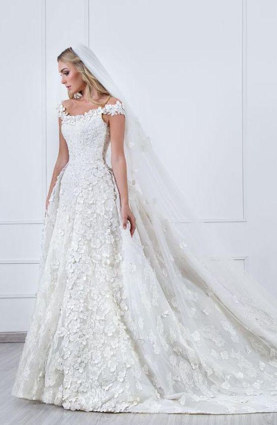 Featured Dress: Marcela de Cala; Wedding dress idea.