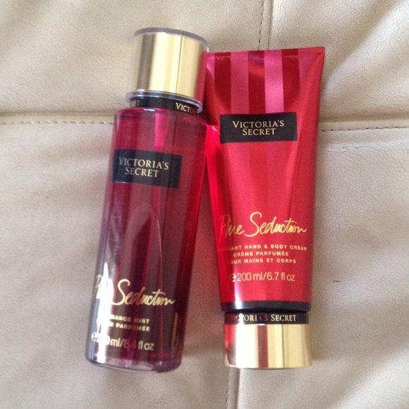 Pure seduction Victoria secret body cream 200 ml and fragance mist 250 ml Victoria's Secret Makeup
