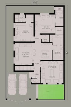 10 Marla House Plan by 360 Design Estate |