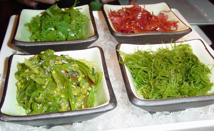 Seaweed - not just for the thyroid but bone health.  Healthy source of fiber, calcium and iodine.