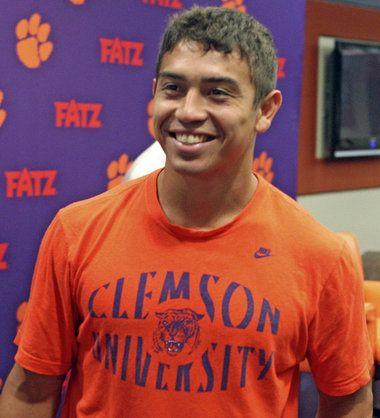 Purple Heart recipient joins Clemson football roster