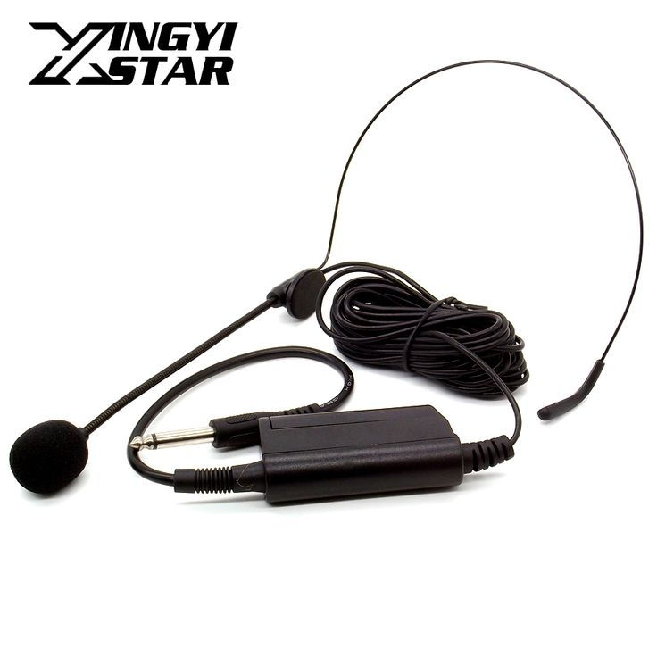 Professional Musical Condenser Headset Microphone Speech Head Mic For PC Voice Amplifier Speaker Stage Performance Audio Mixer