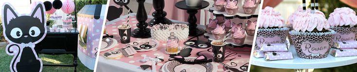 Kitty Cat Diva Birthday Party Theme Decoration Ideas