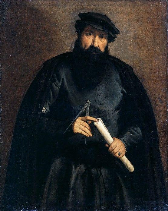 Лотто, Лоренцо (ок1480-1557) - Портрет архитектора. Часть 3