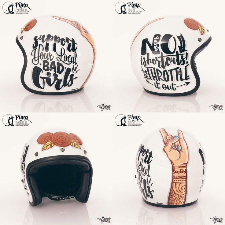 Brusco Artworks - Lowbrow & Signage   Pimp my Bell Expo Helmet
