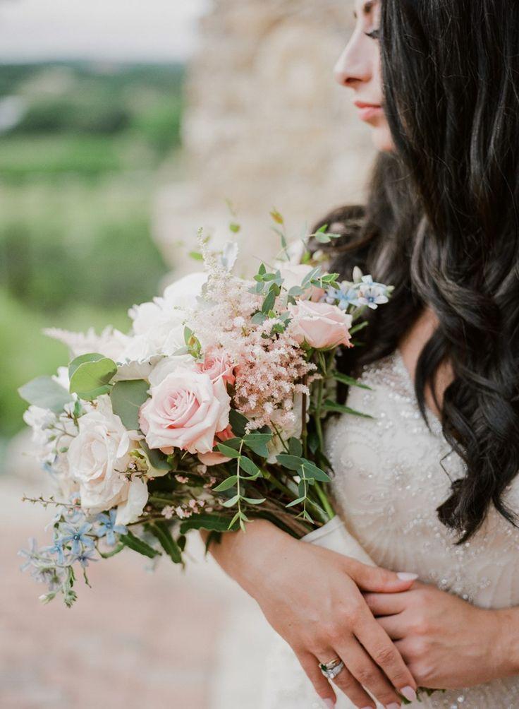 Delicate Pastel Bridal Bouquet
