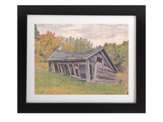 Rustic Unique Cottage Wood Wall Art  Country by TheWoodPaperShoppe