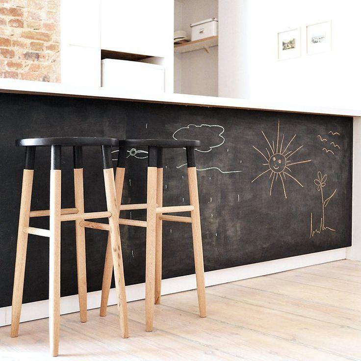 Chalkboard Kitchen Island | Design Idea