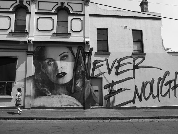 Never enough ...