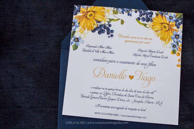 casamento amarelo e azul publicado no blog de casamento Colher de Chá Noivas