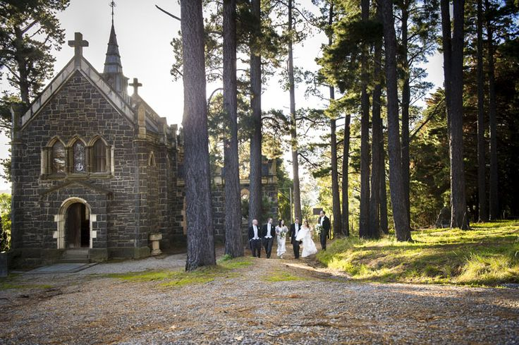 Like something out of a fairy tale!  At Montsalvat. Photographed by Marc Grist Photography #wedding #weddingphotography #location #Montsalvat #marcgristphotography