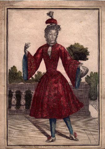 Mademoiselle des Mastins dansant a l'Opéra