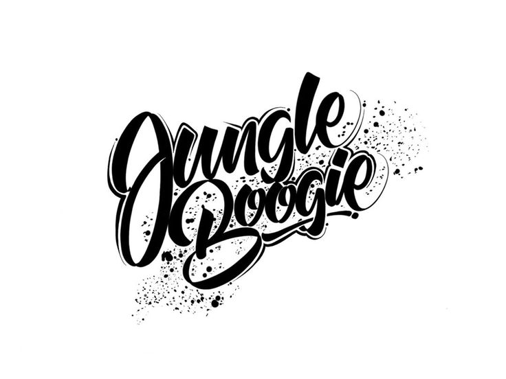 Jungle Boogie! My first hand lettering tutorial is here! (link in bio) This was a completely spontaneous decision and i consider it to be some sort of test before i start to do it more seriously. But let me know what you think about it! :)  #calligraphy #lettering #handdrawntype #script #cursive #brush #brushlettering #brushtype #handlettering #typography #letters #youtube #calligritype #typographie #type #typeyeah #drawing #art #design #graphicdesign #handdrawn #handmade #goodtype…