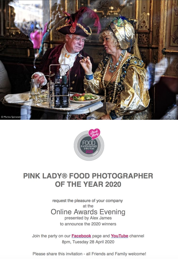 Pink Lady Food Photographer of the Year. Winners announced