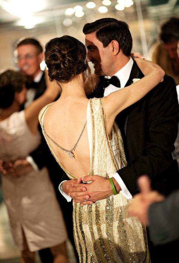 meesterbruiloft - Gouden Gatsby thema bruiloft