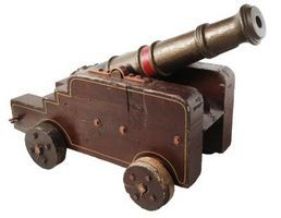 Ideas for a Cannon Cake