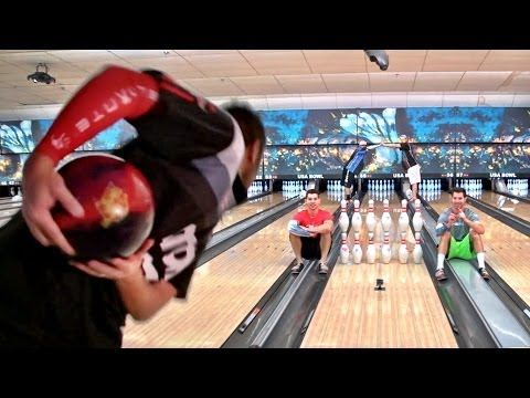 You Probably Didn't Think Bowling Could Have  Trick Shots, but Here You Go!