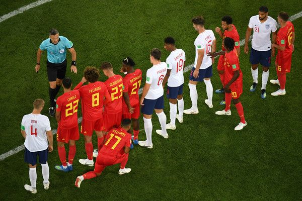 Harry Maguire And Eric Dier Photos Photos England Vs Belgium Group G 2018 Fifa World Cup Russia Fifa World Cup England Players Fifa