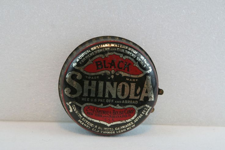 shinola shoe polish tin