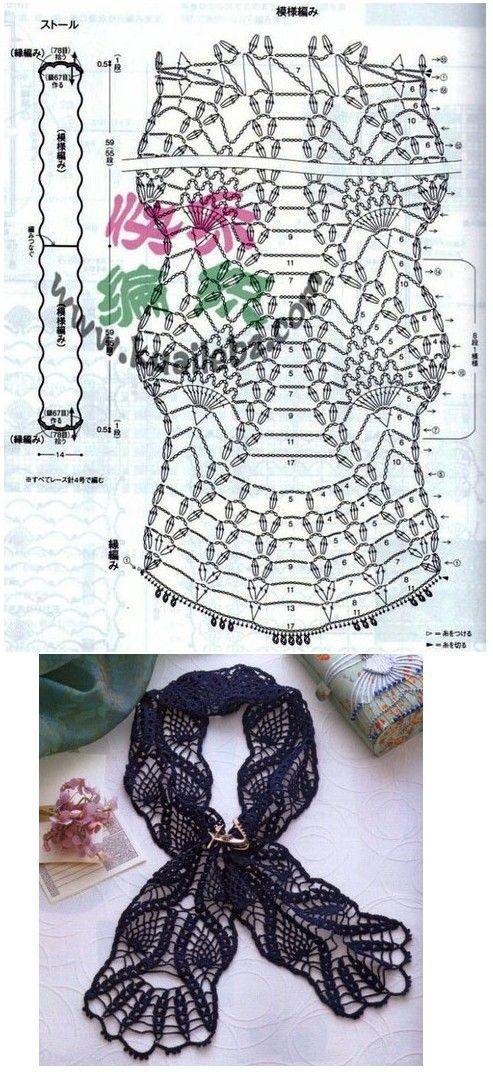 Mejores 50 imágenes de crochet en Pinterest   Patrones de ganchillo ...