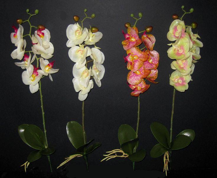 Élethű gumi orchideák