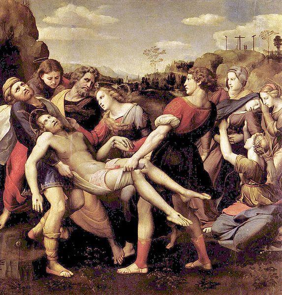 Raffael_Deposition of Christ
