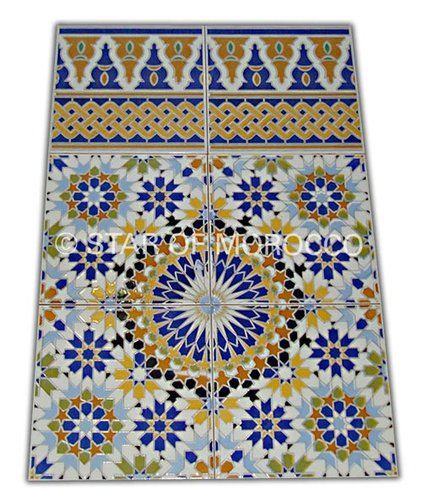 17 best images about moroccan tile on pinterest Moroccan ceramic floor tile