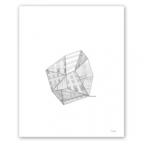 Shapes of Stockholm by Caro-lines at Nordic Design Collective #stockholm #design #poster