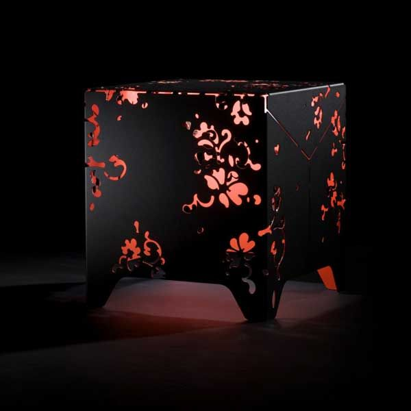 Red Black Table #lamp Http://bit.ly/1qt2XoV