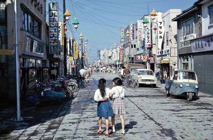 Chitose, Hokkaido, circa 1965.