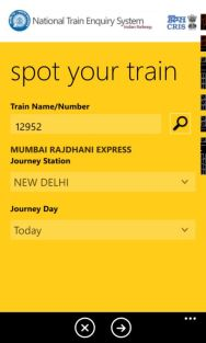 Indian Railways Launches The National Train Enquiry System (NTES) App screenshot 8
