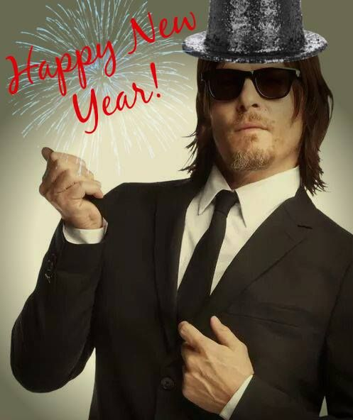 Happy New Year from Daryl | The Walking Dead | Pinterest ...