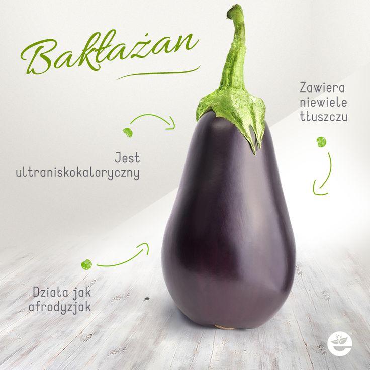 Bakłażan - czyli oberżyna, to niskokaloryczny afrodyzjak! :) Aubergine is an aphrodisiac too ;) #healthyfood #zdrowie #ciekawostka #econdimenta