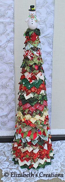 Quilted Tabletop Tree, Christmas Quilted Tree, Christmas Decoration, Quilted Christmas Tabletop Tree, Quilted Christmas Tree, Christmas by moodyelizabeth on Etsy https://www.etsy.com/listing/538672652/quilted-tabletop-tree-christmas-quilted