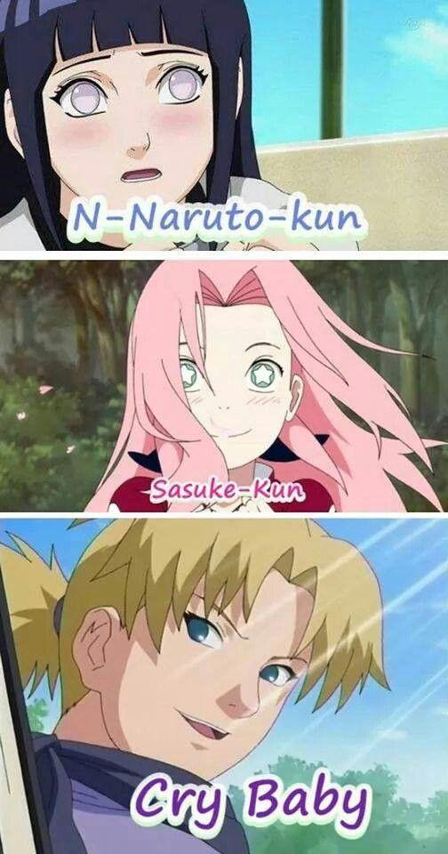 Temari, Sakura and Hinata.