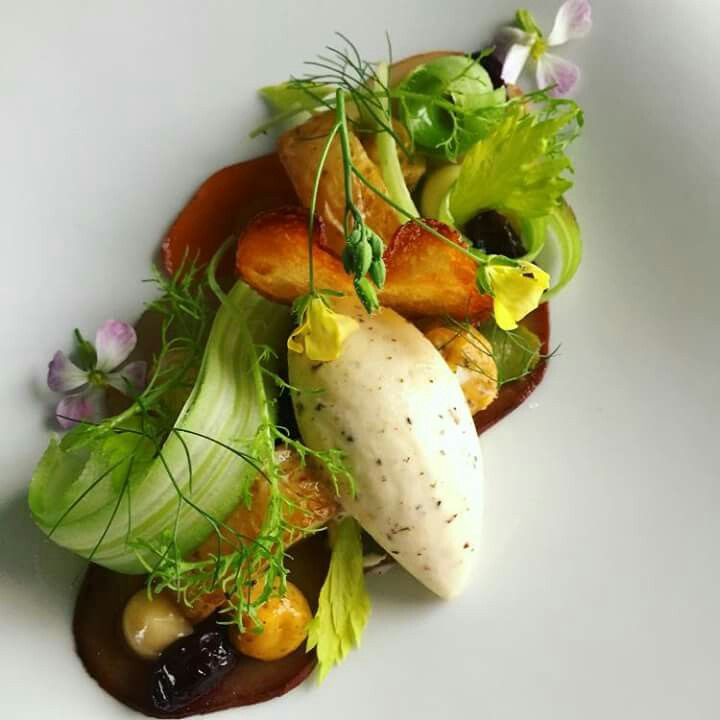Truffled potato salad. Phils Kitchen.