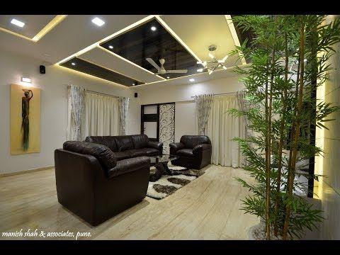 3 Bhk Flat Modern Interior Design For Dhananjay Bhosale Prabhat Road Pune Manish Shah Associates Y In 2020 Interior Design Modern Interior Design Modern Interior