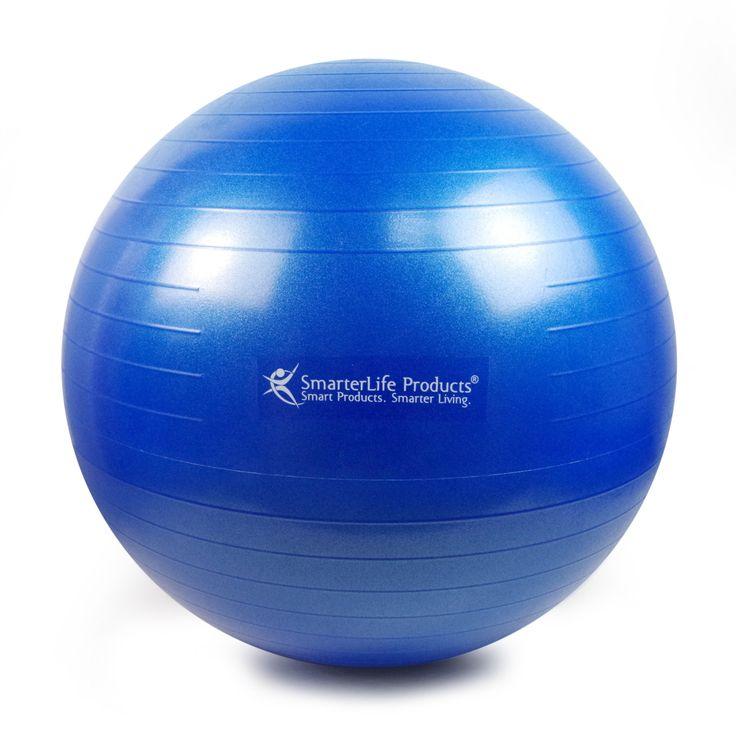 Balance Ball For Weight Loss: SmarterLife Exercise Ball